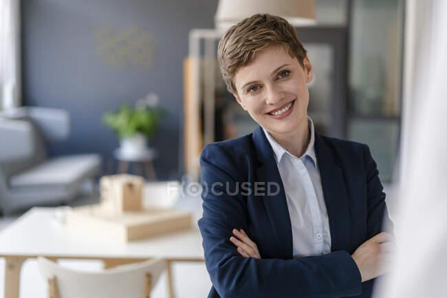 Портрет довіреної комерсантки — стокове фото