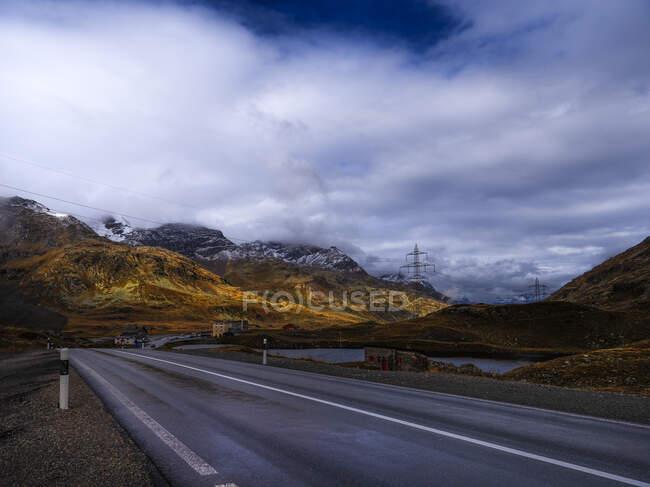Bernina Pass, Grisons, Switzerland — Stock Photo