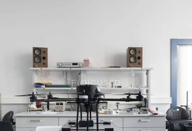 Drone in a laboratory — Stock Photo