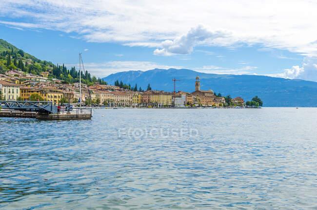 Italy, Lombardy, Salo, Lake Garda — Stock Photo