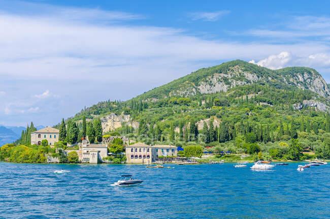 Italy, Veneto, Punta san Vigilio, Lake Garda — Stock Photo