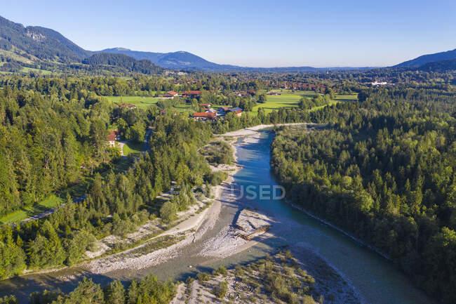 Alemania, Baviera, vista aérea del terreno - foto de stock