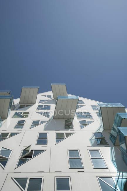 Житловий будинок Isbjerget, Aarhus, Denmark — стокове фото