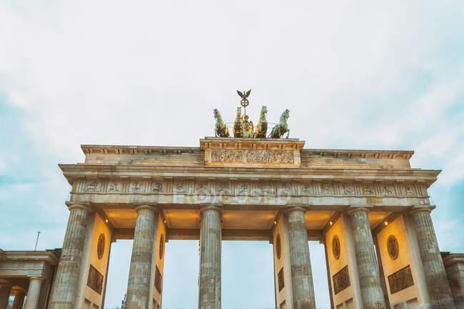 Brandenburger Tor, Berlín, Alemania - foto de stock