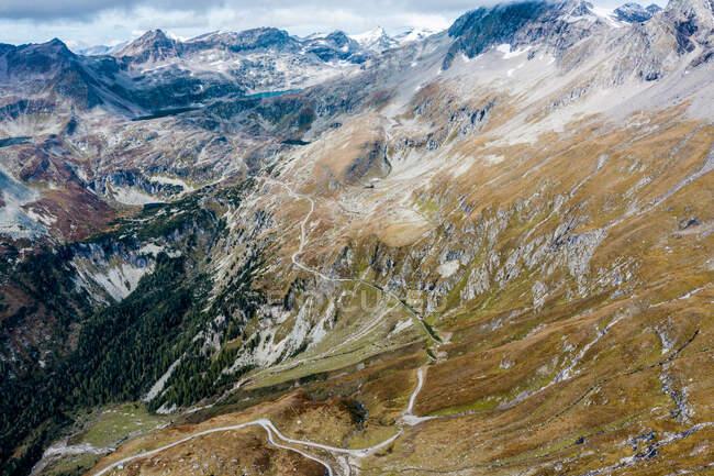 Austria, Carinthia, Aerial view of Molltal Glacier — Stock Photo
