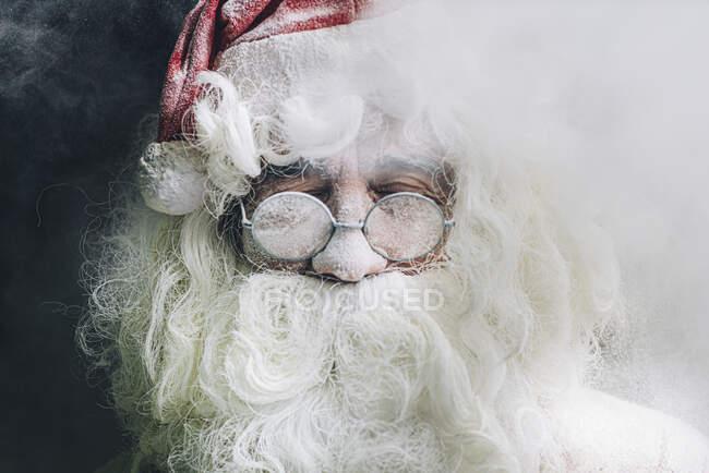Портрет Миколая з окулярами. — стокове фото