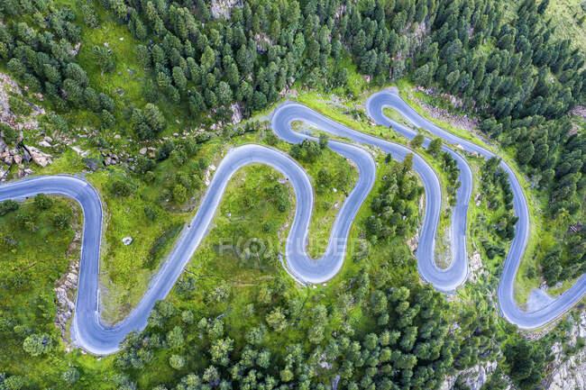 Austria, Tirol, Kauner Valley Glacier Road - foto de stock