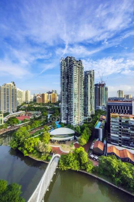 Південно-східна Азія, Сінгапур, Cityscape — стокове фото