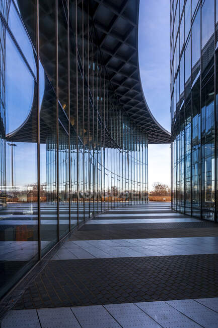 Germania, Renania Settentrionale-Vestfalia, Bonn, Post Tower — Foto stock