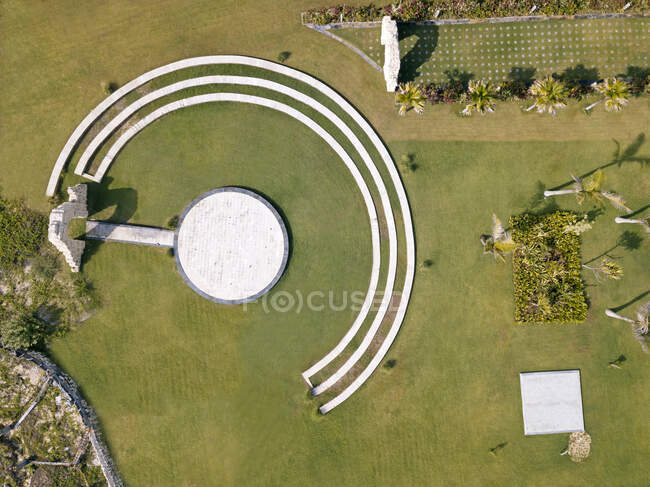 Indonesia, Bali, Nusa Dua, Vista aérea de la escena al aire libre - foto de stock