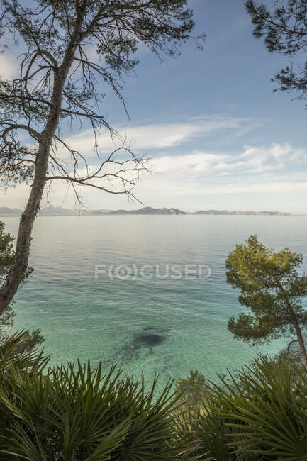 Spagna, Maiorca, Acque costiere del Mar Mediterraneo — Foto stock