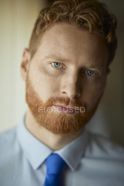Portrait of serious businessman — Stock Photo