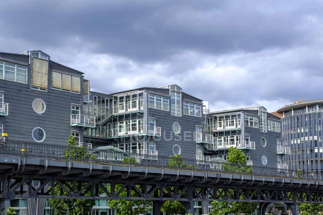 Германия, Гамбург, штаб-квартира Gruner + Jahr — стоковое фото