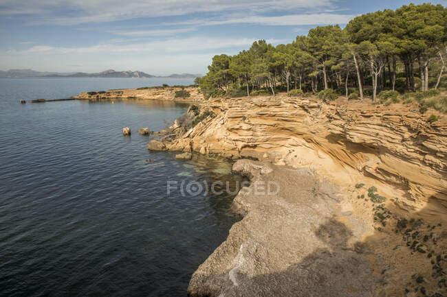Spagna, Maiorca, costa del Mediterraneo — Foto stock