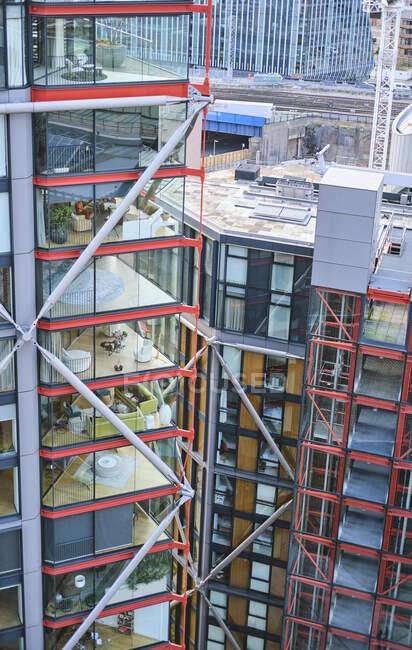 Велика Британія, Англія, Лондон, апартаменти Південного банку — стокове фото