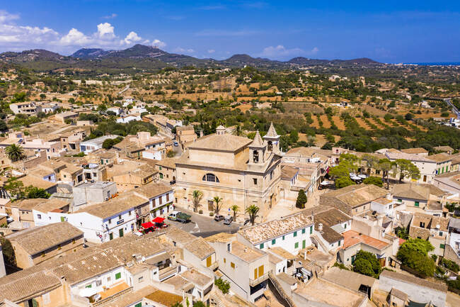 Vista aérea de S 'Alqueria Blanca, Mallorca, España - foto de stock