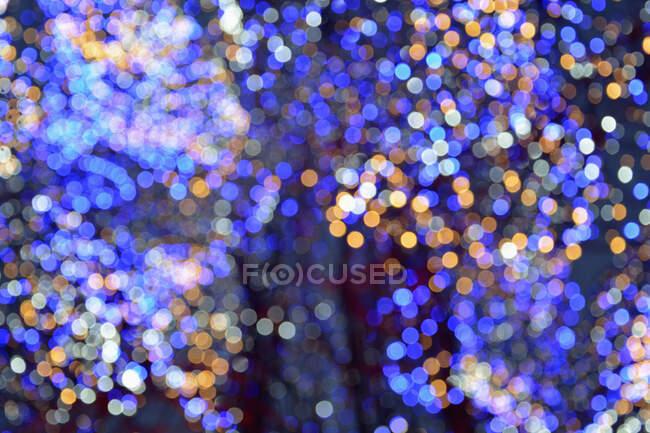 Abstracto borroso navidad bokeh fondo - foto de stock
