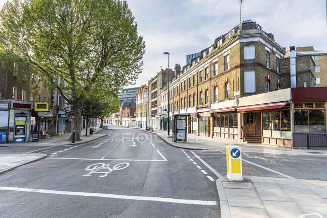Reino Unido, Inglaterra, Londres, Cidade vazia durante a pandemia de COVID-19 — Fotografia de Stock
