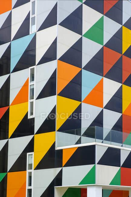 España, Vizcaya, Guernica, Exterior del museo de arte Astra - foto de stock