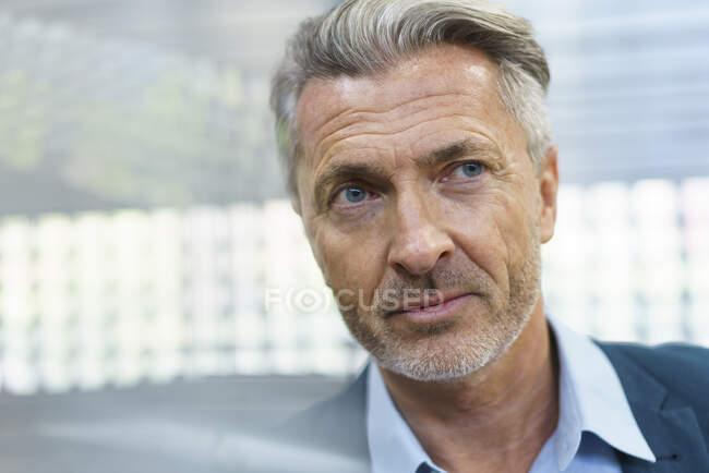 Portrait of a confident mature businessman — Stock Photo