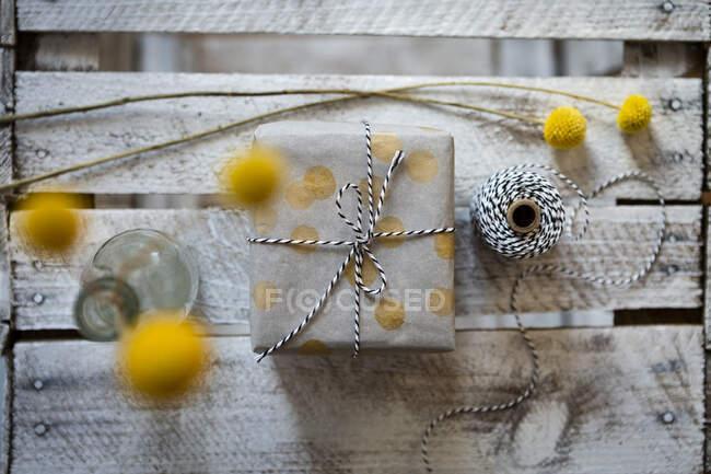 Fatti a mano bei fiori, messa a fuoco selettiva — Foto stock