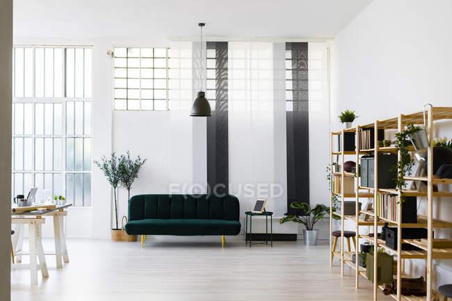 Interior of modern creative office — Stock Photo