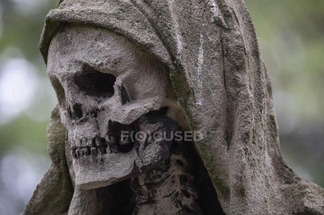 Statue de la Faucheuse — Photo de stock