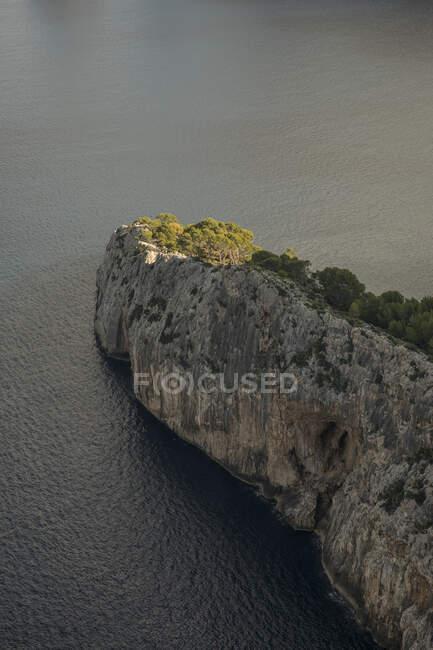 Veduta aerea del promontorio di Cap de Formentor — Foto stock