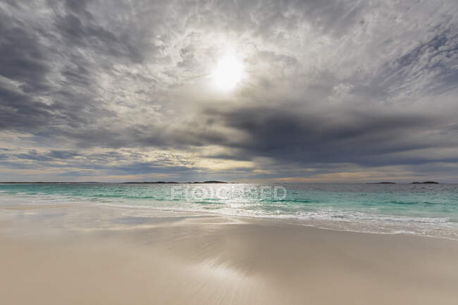 Australia, Oceania, Australia Occidentale, Capo Le Grand National Park, Rossiter Bay, Mare e spiaggia — Foto stock