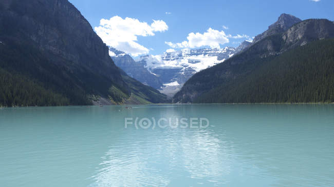 Lake Louise, Banff Nationalpark, Alberta, Kanada — Stockfoto