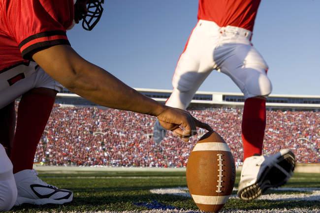 Куповані самоварно kicker ногами футбольний стадіон — стокове фото