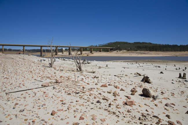 Dürre betroffenen Landschaft im Bereich des Western Cape In Südafrika — Stockfoto