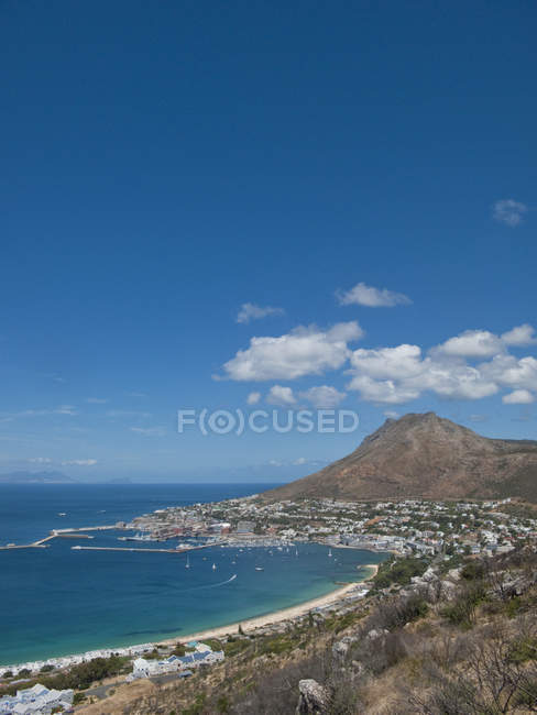 View Of Simons Town In Western Cape Region Of South Africa — Stock Photo