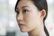 Portrait of young asian woman — Stock Photo