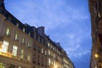 Квартири в сутінках. — стокове фото