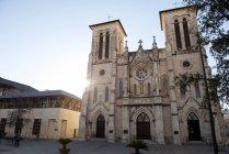 Cathedral of San Fernando in San Antonio, Texas, USA — Stock Photo