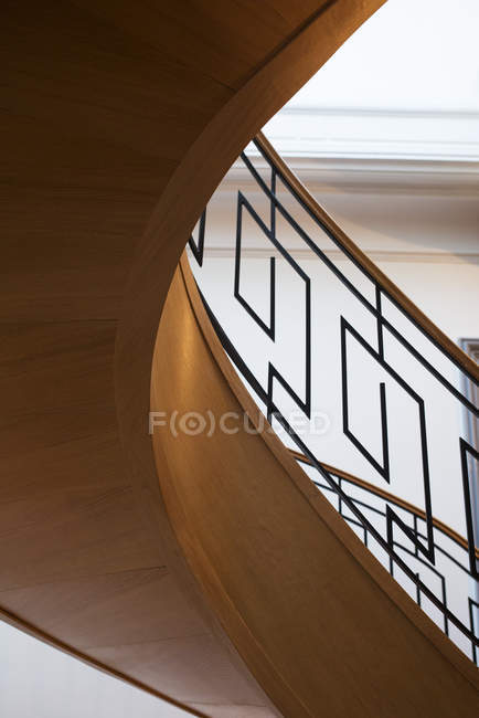 Spiral staircase in the house — Stock Photo