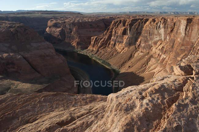 Curva de herradura, arizona - foto de stock
