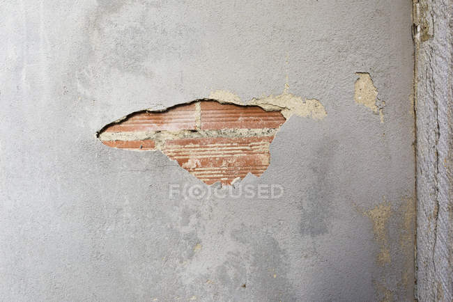 Close up of Deteriorating wall at daytime — Stock Photo
