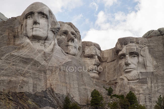 Mount Rushmore National Memorial, South Dakota, USA — Stockfoto