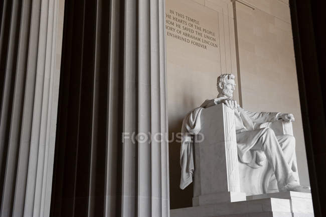 Mémorial de Lincoln, washington dc, usa — Photo de stock