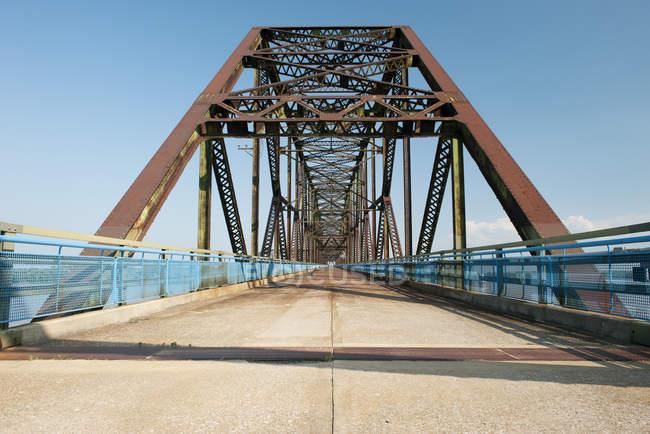 Pont historique le long de la Route 66 aux Etats-Unis — Photo de stock