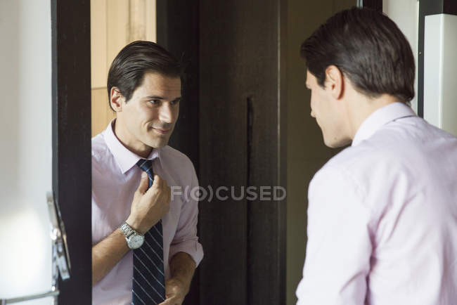 looking in mirror stock photos royalty free images focused