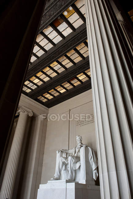 Lincoln Memoriale, Washington DC, Stati Uniti d'America — Foto stock