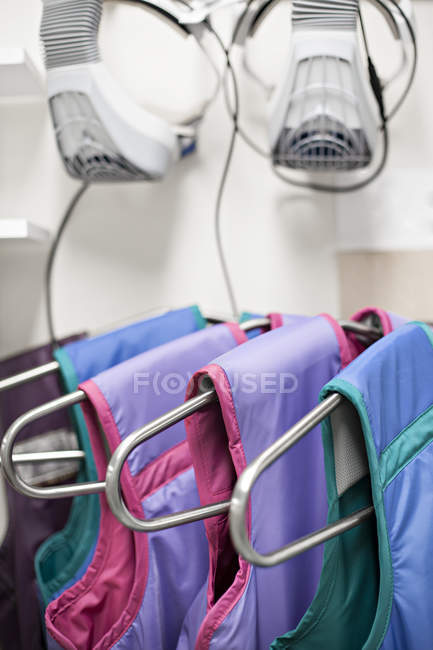 X-ray protection suits — Stock Photo
