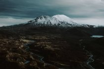 Vista diurna del Monte St. Helens en el Condado de Skamania, Washington, Usa - foto de stock