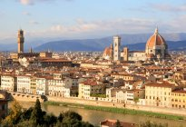 Florence cityscape with Dome — Stock Photo