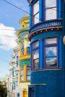 Famose case residenziali — Foto stock