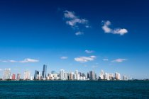 Міський краєвид Майамі, Флорида — стокове фото