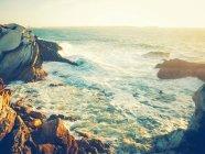 Rocky coastline, Portugal — Stock Photo